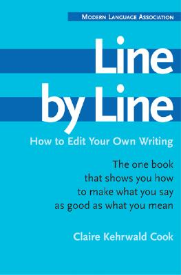 Line by Line By Cook, Claire Kehrwald