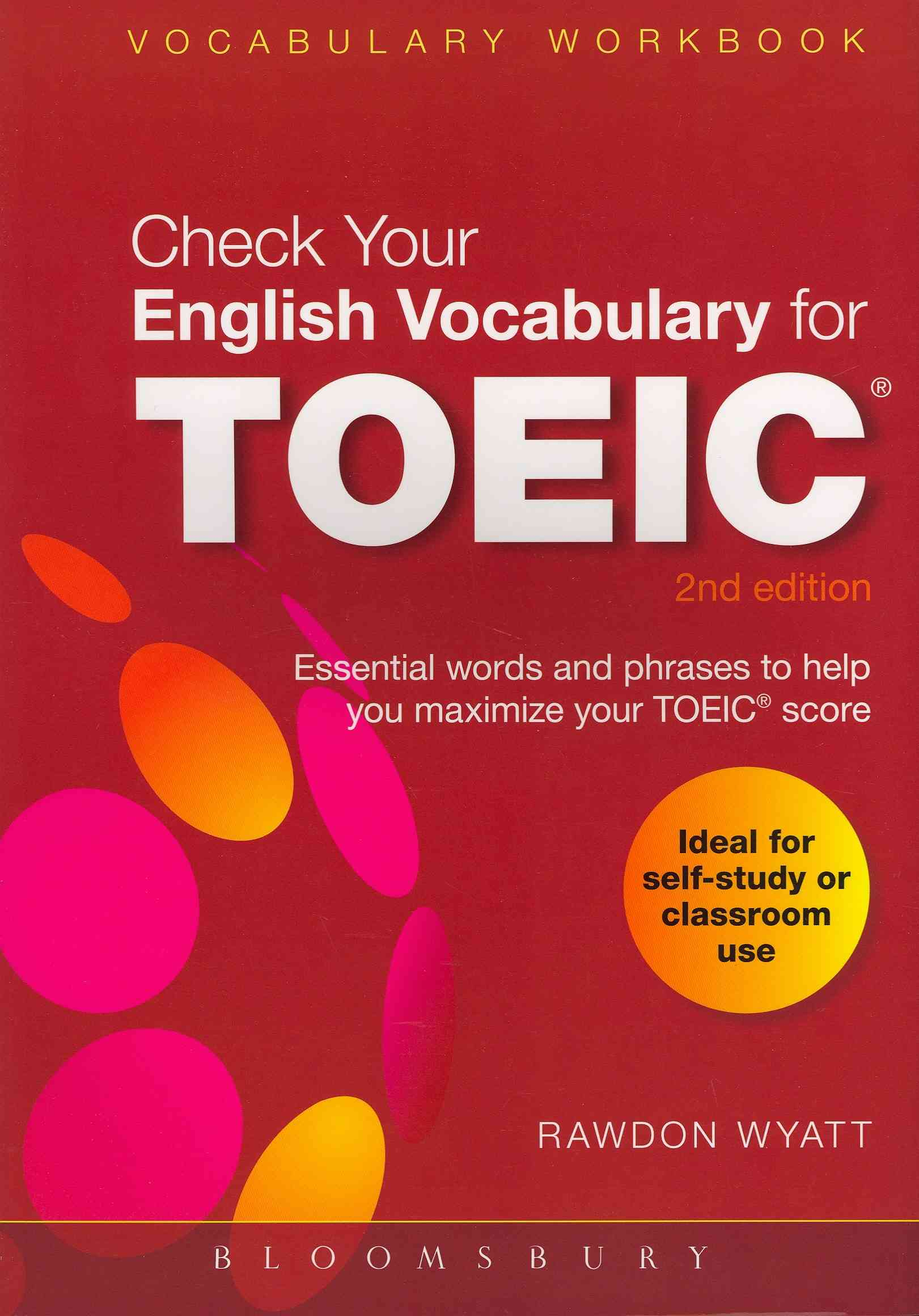 Check Your English Vocabulary for TOEIC By Wyatt, Rawdon